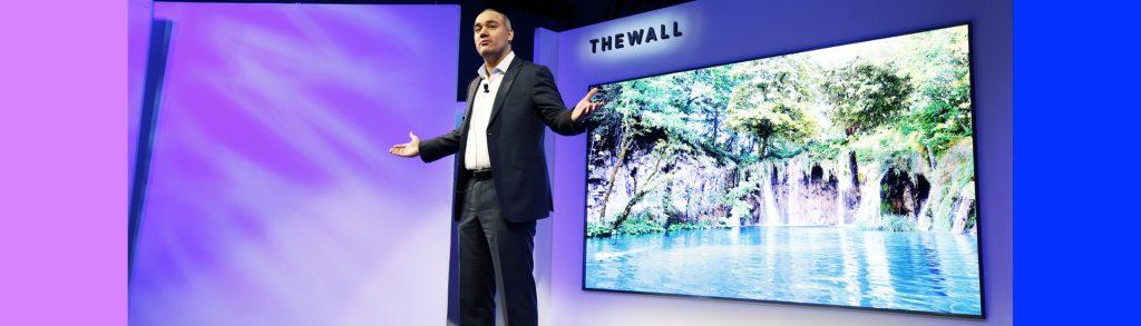 The Wall, tV da Samsung com MicroLEDs