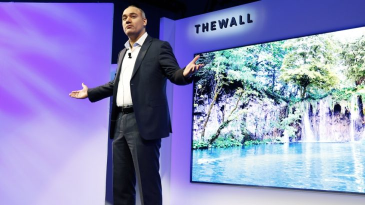 The Wall, tV da Samsung com MicroLEDs