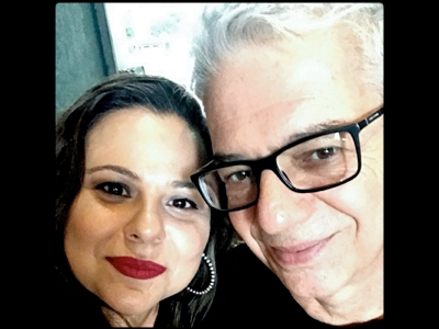 Vicente Tardin e Viviane Danin, editores