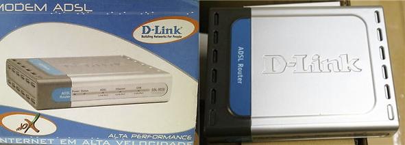 Modem Dlink DSL-502G
