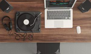 A transição da gravação analógica para digital