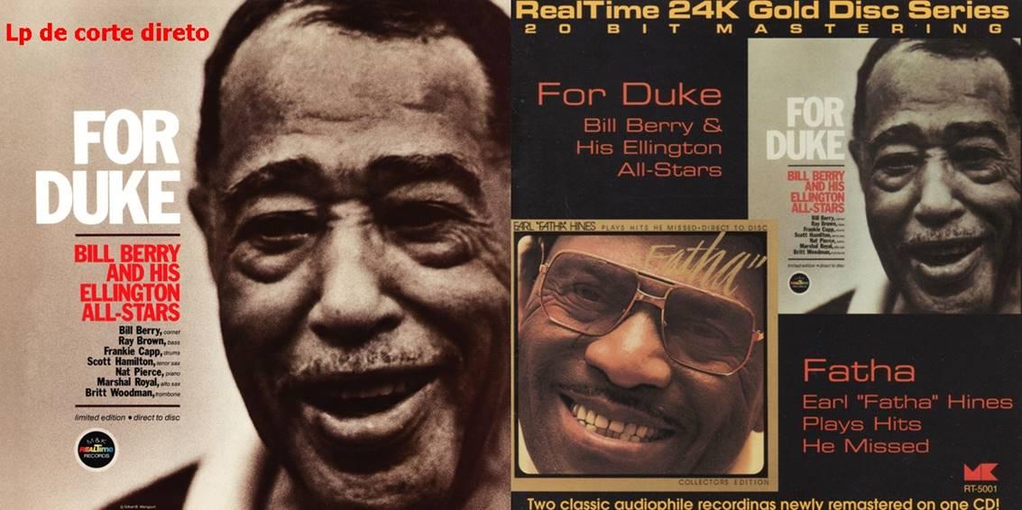 Disco de Duke Ellington com corte direto