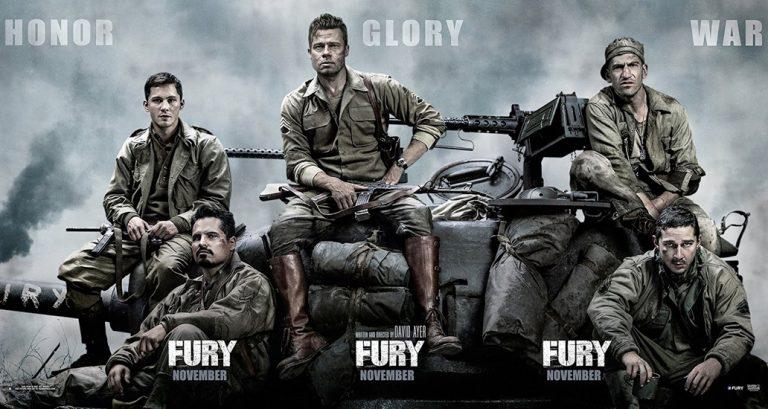 Roteiro de Fury deixa furiosos fãs de filimes sobre a segunda guerra