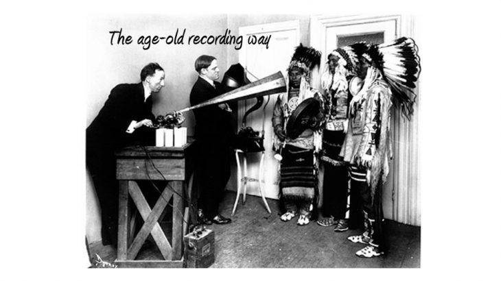 A história da gravação até o som digital