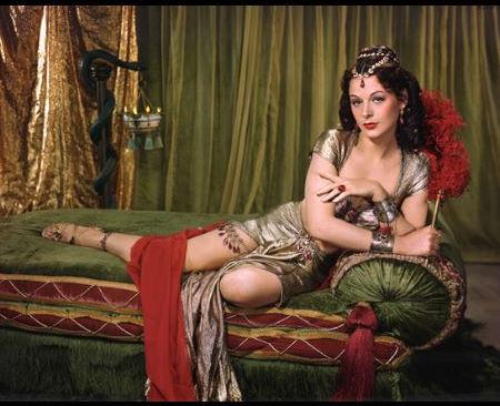 Dalila, do filme Sansão e Dalila
