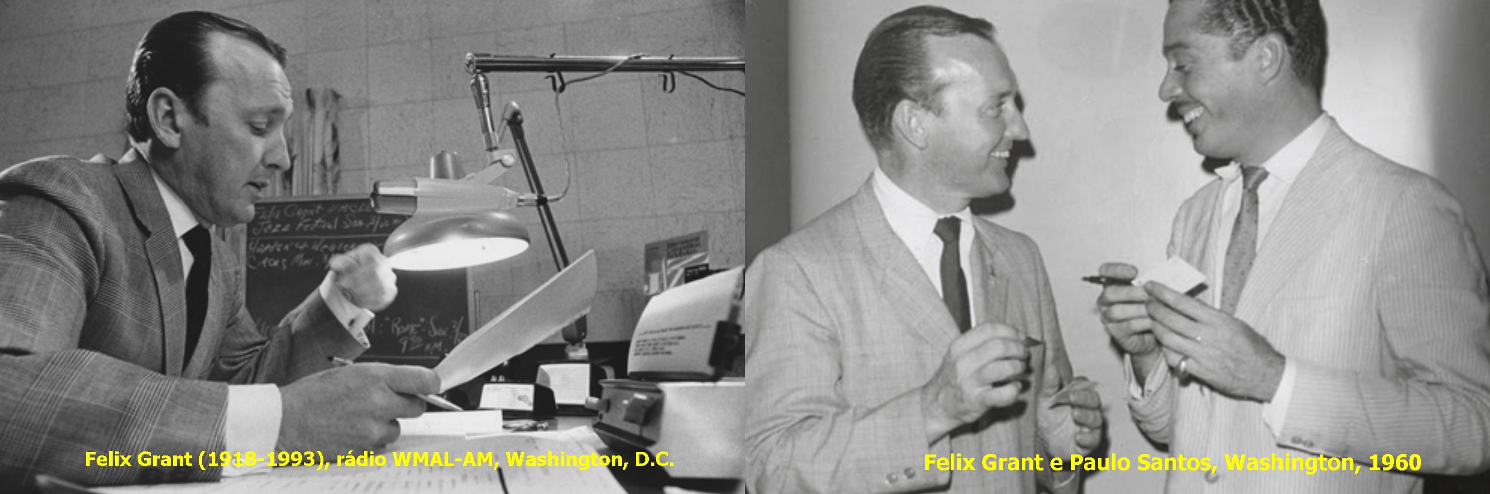 Felix Grant foi um apresentador de rádio localizado em Washington.