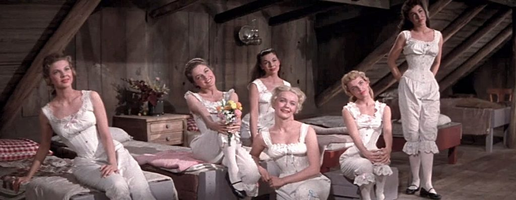 Como foi recuperado para formato em alta definição o clássico Sete Noivas Para Sete Irmãos