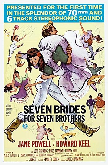 As dificuldades para recuperar o filme Sete Noivas Para Sete Irmãos em formato de alta definição