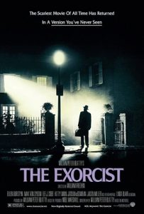 Cartaz do filme O Exorcista, com roteiro de William Peter Blatty