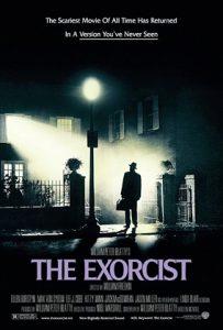 Cartaz do filme O Exorcista, com roteiro de William Peter Blatty