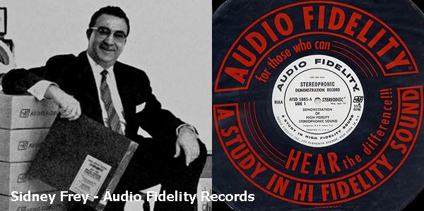 Em 1957, Sidney Frey fez um acordo com a Westrex para uso do torno de corte do acetato, e posteriormente prensando o primeiro disco estereofônico a ser lançado comercialmente