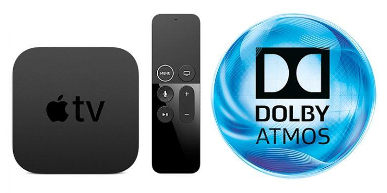 Atualização Apple TV e Dolby Atmos