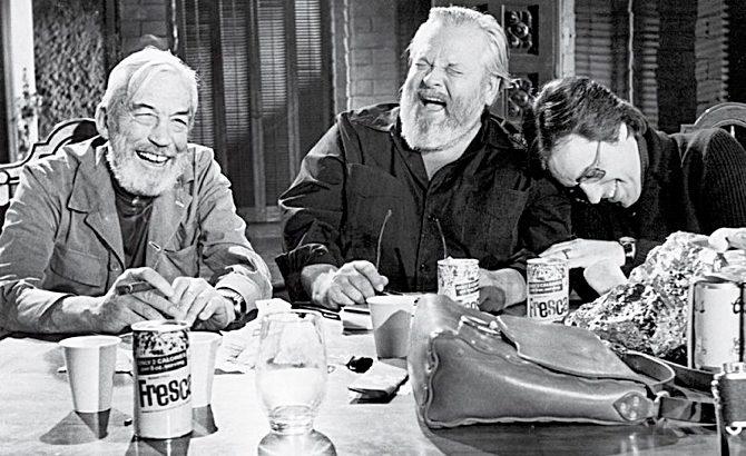 O último filme de Orson Welles