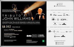 Concerto Tributo a John Williams, com a OSB e o maestro John Mills, no Theatro Municipal do Rio de Janeiro, em dezembro de 2018