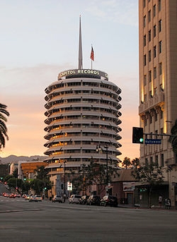 A torre da Capitol Records