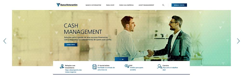 Readequação de conteúdo texto para site do Banco Votorantim
