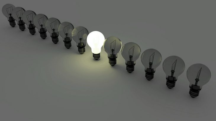Uma ideia na cabeça será suficiente?