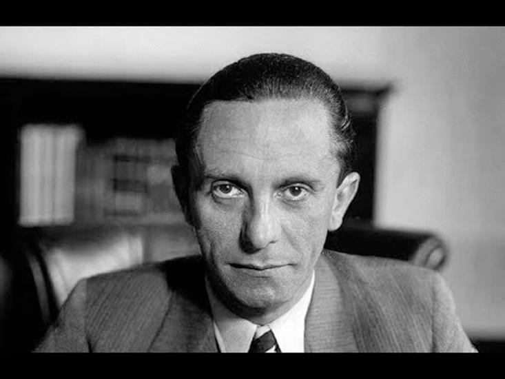 Goebbels e a propaganda subliminar