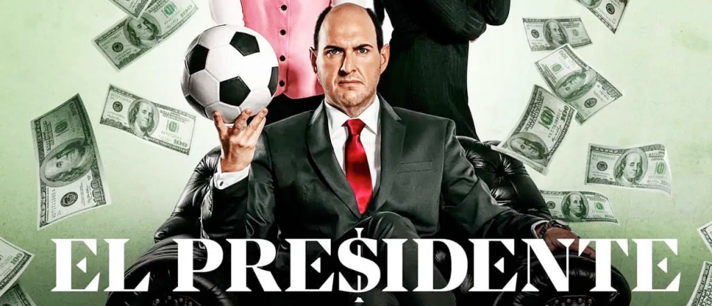 el presidente,seriado sobre bastidores do futebol