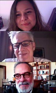 Viviane Danin, Vicente Tardin e Ricardo Porto