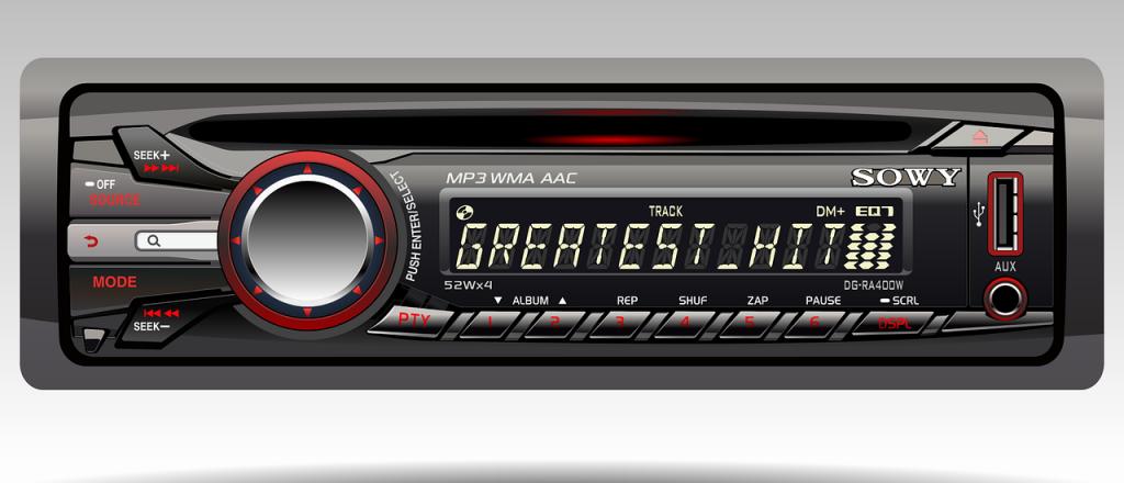 Ouvindo música no carro, uma história