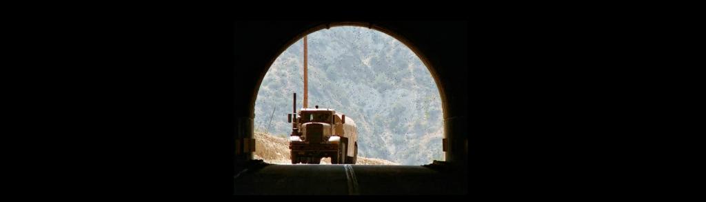 Cena de Encurralado, primeiro filme de Steve Spielberg