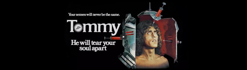 Tommy,o filme, em Quadraphonic